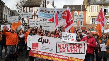 RRG, Streik, Warnstreik, Medien, MDS