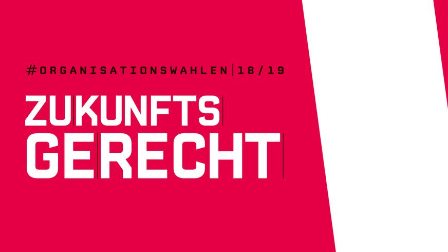 Organisationswahlen 2018/2019 _Bühne