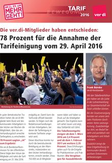 Tarifinfo ÖD 2016 vom 31.05.2016