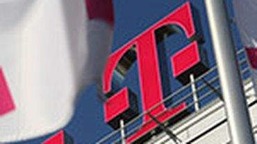 Telekom-Fahnen
