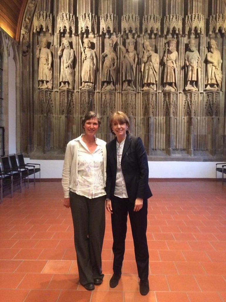 Henriette Reker, Oberbürgermeisterin Köln (rechts) und Kathy Ziegler