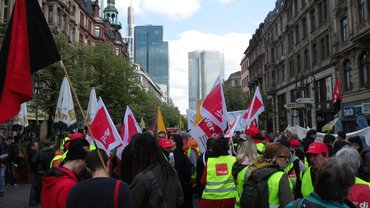 Demonstration, Tarifeinheit, Streik