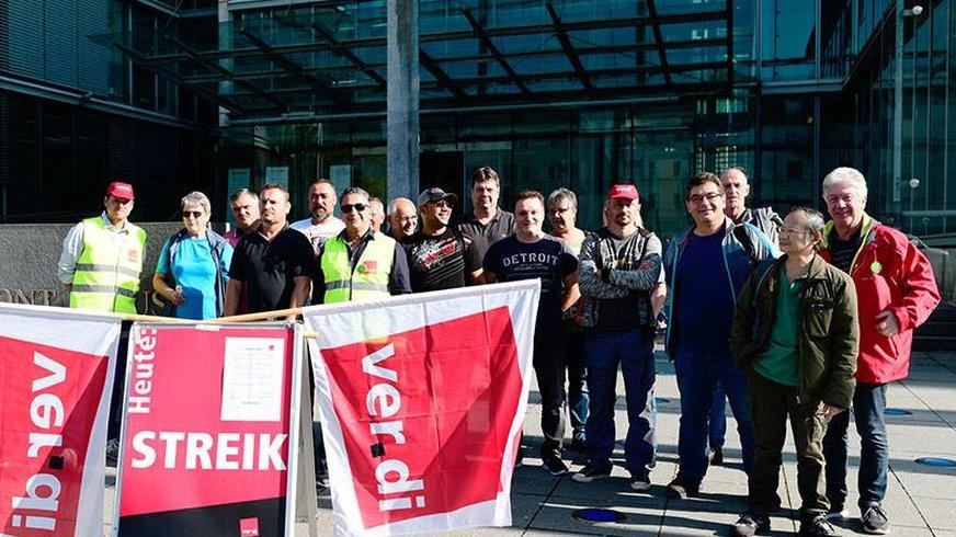 MDS, Streik, Druckindustrie, Köln