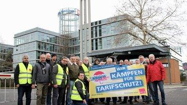MDS, Druckzentrum, Köln, Wanstreik, tarifvertrag, Druck, Medien