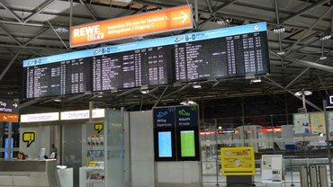 Streik am Flughafen Köln-Bonn