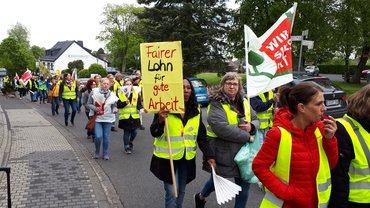 Eifelhöhen-Klinik Marmagen: Kundgebung am 16.05.2019