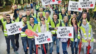 Tarifrunde GAH NRW 2019 (Tarifinfo 04/2019)