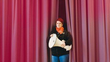 Krankenpflegehelferin Sandra Grundmann ist nur eine von vielen, die sich Gehör verschaffen will