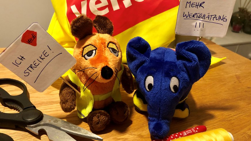 WDR, Beitragsservice, Elefant, Maus, Köln, Streik, Medien
