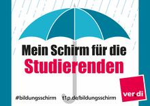 Mein Schirm für die Studierende!