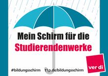 Mein Schirm für die Studierendenwerke!