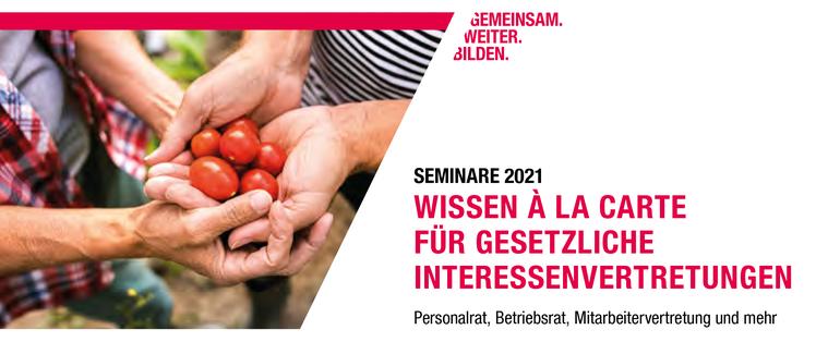 Wissen á la carte 2021 des DGB-Bildungswerk NRW e.V.
