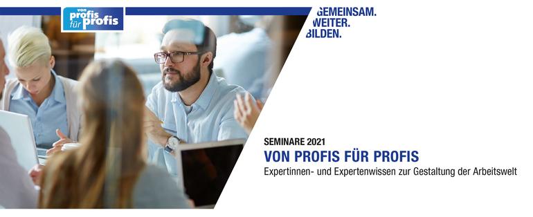 Von Profis für Profis 2021 des DGB-Bildungswerk NRW e.V.