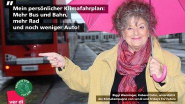 Mein persönlicher Klimafahrplan: Mehr Bus und Bahn, mehr Rad  und noch weniger Auto!