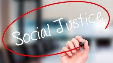 Soziale Gerechtigkeit social justice
