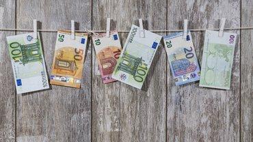 Geld Geldscheine Gehalt Lohn